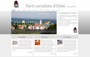 Le nouveau site du PS Orbe et environs