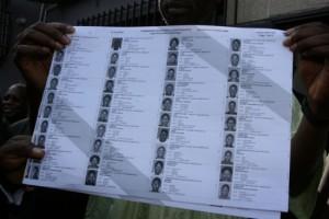 Une liste électorale