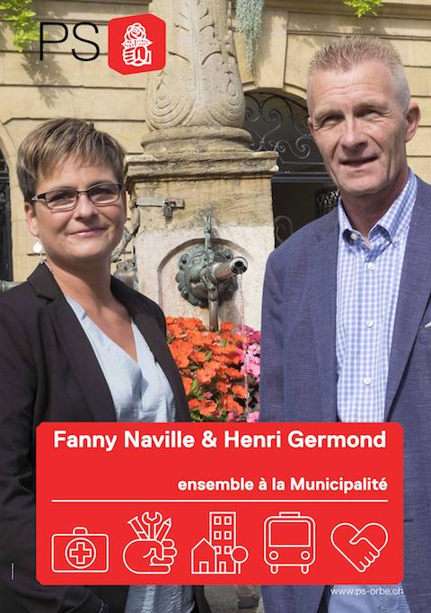 Deux candidats à la Municipalité